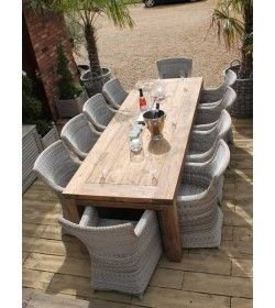 York 10 Chair Dining Set