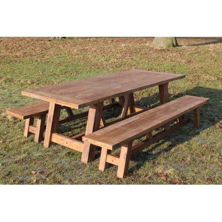 Lombok 3m Bench Set