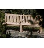 Hyde Park FSC Certified 2.4m Oak Bench