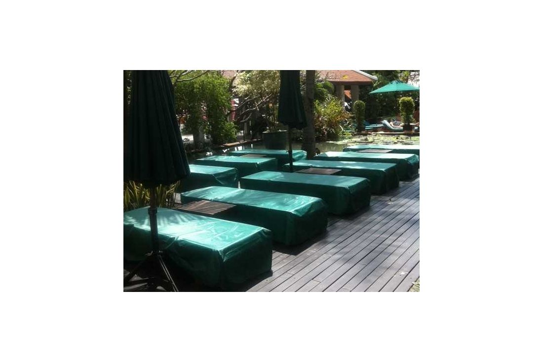 Garden furniture cover - Sun lounger