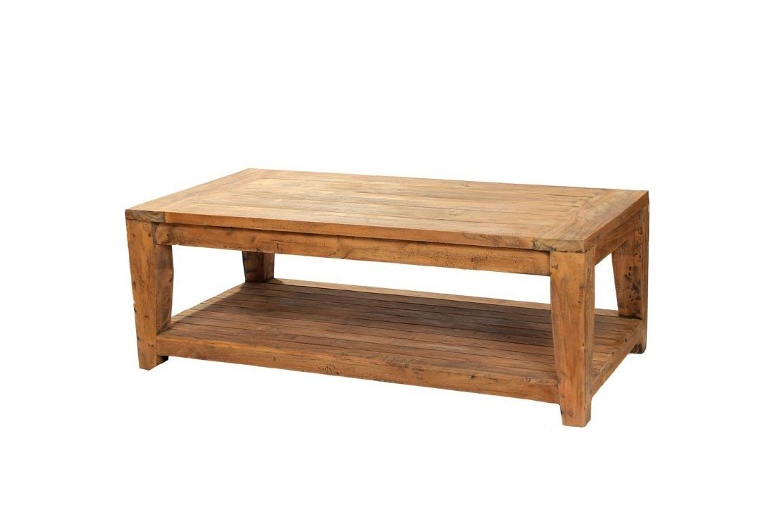 York Reclaimed Teak Coffee Table