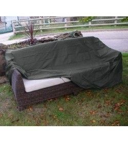 Outdoor Rattan 2 seater sofa weather cover