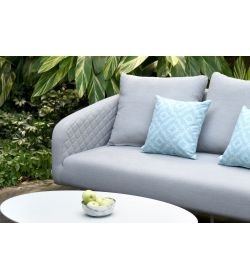 Scatter Cushions x 2  Santorini Blue