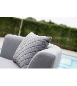 Scatter Cushions x 2 Quilted - Flanelle