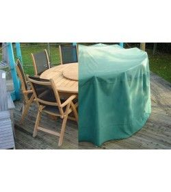 Garden furniture cover - Medium round suite table & chairs