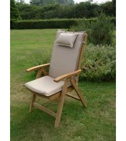 Recliner outdoor cushion - x 4 All colours