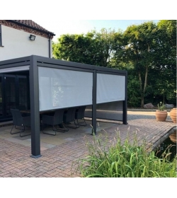 Galaxy Gazebo Front Screen 3.5 X 5.4M