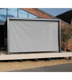 Galaxy Gazebo Front Screen - 3 X 3M