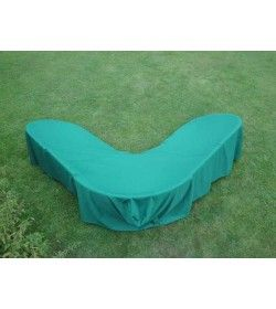 Garden furniture cover - corner sofa Large