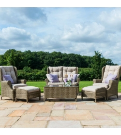Winchester High Back Sofa Set