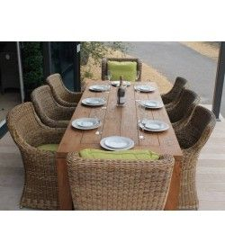 York 2.4 & Willow Chair Dining Set