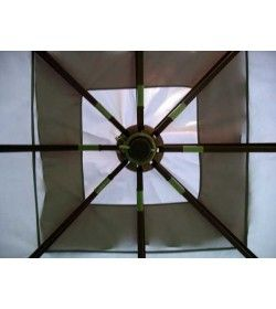 4m x 3m riveria gazebo - top frame