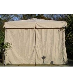 3m x 3m delux gazebo - side curtains