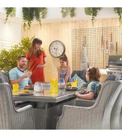 Thalia 8 Seat Rectangular Dining Set
