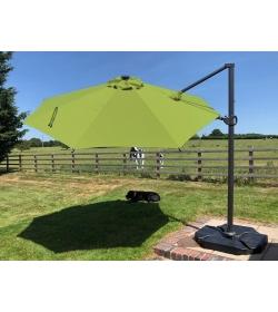 Calypso LED Parasol 3.5M Diameter