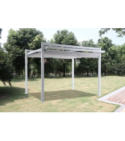 Gal Sliding Roof Gazebo