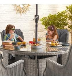 Thalia 6 Seat Dining Set