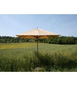 Bambrella 3.5m x 2.5m Rectangular Parasol  Beige | FSC® Certified