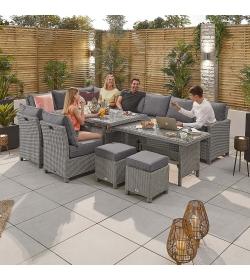 Ciara Deluxe Extending LH Corner Sofa Set