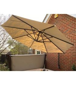 Turino wall parasol Beige