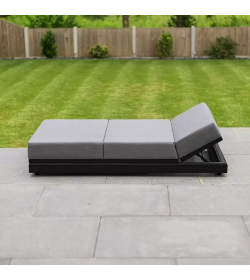 Sense Outdoor Fabric Sun Lounger