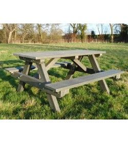 A framed picnic table 1.5m