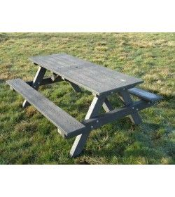 A framed picnic table 1.8m
