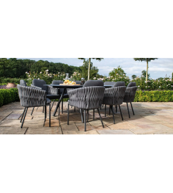 Marina 8 Seat Oval Dining Table