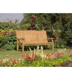 Malvern teak bench - 180cm
