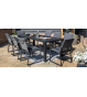 Manhattan 8 Seat Rectangular Dining Set