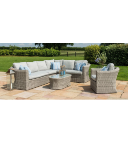 OXFORD LARGE CORNER GROUP WITH ARMCHAIR
