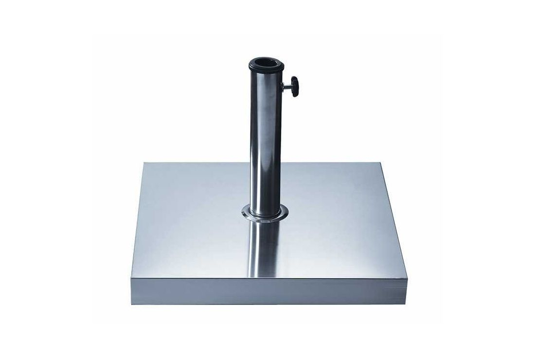 Parasol Base - 30kg Stainless Steel