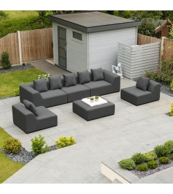 Buddha Outdoor Fabric Sofa Set
