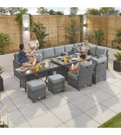 Deluxe Extending Cambridge Casual Corner Sofa Set RH