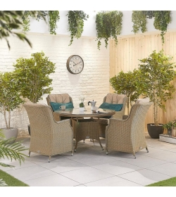 Thalia 4 Seat Dining Set