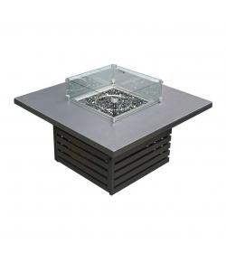 Vogue Square Firepit Table