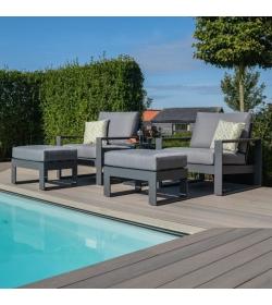 Amalfi 5pc Lounge Set