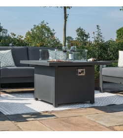 Square Firepit Table