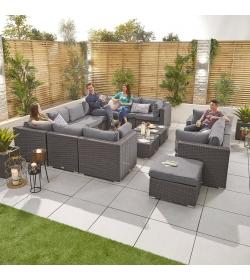 Chelsea 5A Rattan Corner Sofa Set