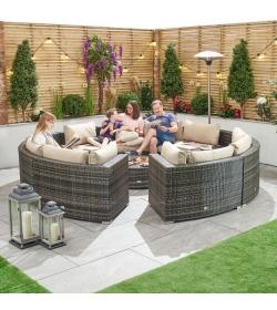 Kensington 3A Rattan Corner Sofa Set