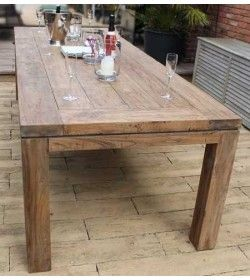 York 2.8m Reclaimed Teak Table
