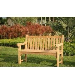 Richmond Garden Teak Bench 1.3m