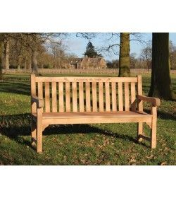 Richmond Garden Teak Bench 1.5m