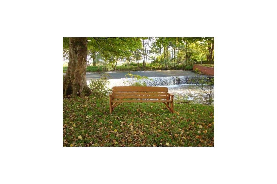 Oak Garden Bench 220cm