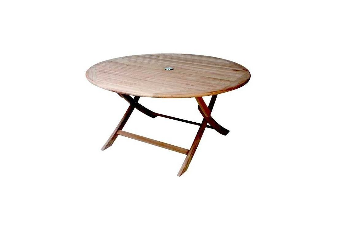 Henley round folding table -120cm diameter
