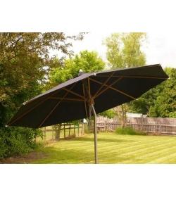 Silver parasol - 300cm diameter