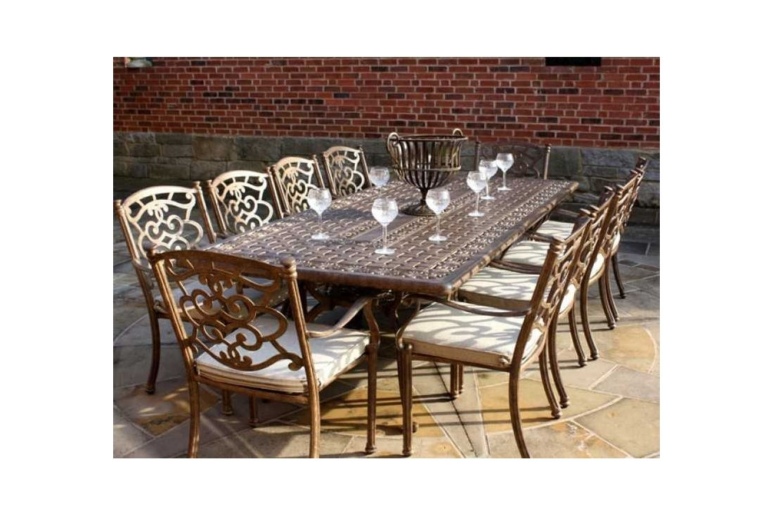 Casino 10 seater Rectangle table & chairs Set