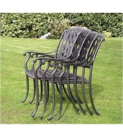 Tudor armchair - set of 4
