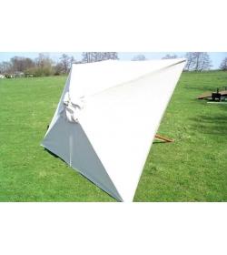 Parasol canopy - 300cm x 200cm rectangular - 6 pockets