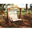 Arc swing seat